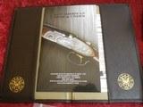 """Galazan Connecticut Shotgun Mfg. A-10 American, Rose & Scroll 12 gauge, O/U 28""""bbl w/case & Extras - 6 of 25"""