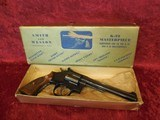 """Smith & Wesson S&W k-22 Masterpiece Target 6"""" bbl .22 lr with Gold Box"""