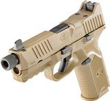 FN 509 Tactical 9 mm Luger FDE NS NEW with 3 mags (1-17 rd & 2-24 rd) - 5 of 5
