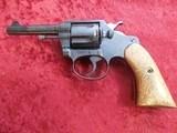 Colt Police Positive .32 cal 6-shot revolver Walnut Grips