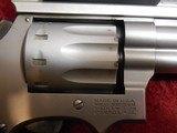 "Smith & Wesson S&W 617-1 10-shot .22 lr revolver SS 6"" bbl Truglo Sight - 7 of 10"
