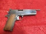 Colt Government 1911 Giles Custom Shop .45 acp Target pistol