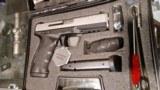 "Sar USA SAR9ST 9 mm pistol 4.5"" bbl 17+1 Black/Stainless NEW in box!"