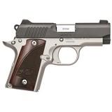Kimber Micro 9 semi-auto pistol Two-Tone & Rosewood NEW #KIM3300099