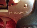 """Ruger Security Six .357 mag revolver, 4"""" bbl Stainless 200th Year of American Liberty - 2 of 19"""
