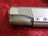 Caspian Custom 1911 .45 pistol, Stainless Steel, Wood Grips, 4-DOT Red Dot with mount - 7 of 14