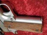 Caspian Custom 1911 .45 pistol, Stainless Steel, Wood Grips, 4-DOT Red Dot with mount - 11 of 14