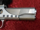 Caspian Custom 1911 .45 pistol, Stainless Steel, Wood Grips, 4-DOT Red Dot with mount - 10 of 14