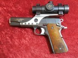 Springfield Armory 1911-A1 Custom by Larry Leutenegger (Albany, WI) with Red Dot - 1 of 10