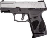 taurus g2c 9mm pistol 12 shot matte ss black polymer new #g2c93912