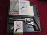 """Ruger New Model Blackhawk 6-shot .45 colt 7.5"""" bbl Bright SS LNIB--SALE PENDING!!"""