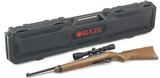 "Ruger 10/22 Carbine semi-auto .22 lr rifle 18.5"" bbl Blued/Hardwood w/Viridian 3-9x40 Scope NEW #31159"