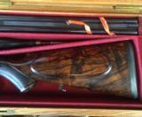 James Purdey double rifle in .303 British - In superb condition in its makers oak & leather caseExquisite! - 6 of 11