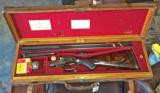 James Purdey double rifle in .303 British - In superb condition in its makers oak & leather caseExquisite! - 2 of 11