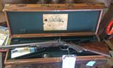 Thomas Boss 12 ga muzzle loader with makers case... ...what does this fine Boss and Email have in common? - 1 of 8