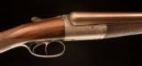 John Dickson & Son wonderful round action with original nitro proofed Damascus barrels - 4 of 8