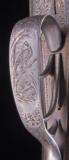 R.W. Hill of 467 Warwick Road ~ Solihull ~ England ~ Outstanding Engraving with scroll, dogs, and birds! - 10 of 12
