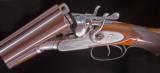W.J. Jeffery Live Pigeon gun with 2 3/4