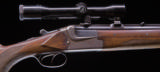 Merkel 12g. O/U with extra set of Over 12g. / .222 Remington