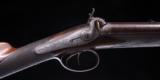 J. Pratt on Hannover Street Edinburgh Scotland ~ Cased Muzzle Loader Two Barrel Set ! Double Rifle and Shotgun ~ Sale! - 7 of 12