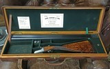 John Dickson & Son Classic Round Action ~ Beautiful and in a vintage Oak & Leather Case