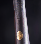Stephen Grant Sidelock with stunning Nitro Proofed Damascus Barrels in its makers case - 4 of 12