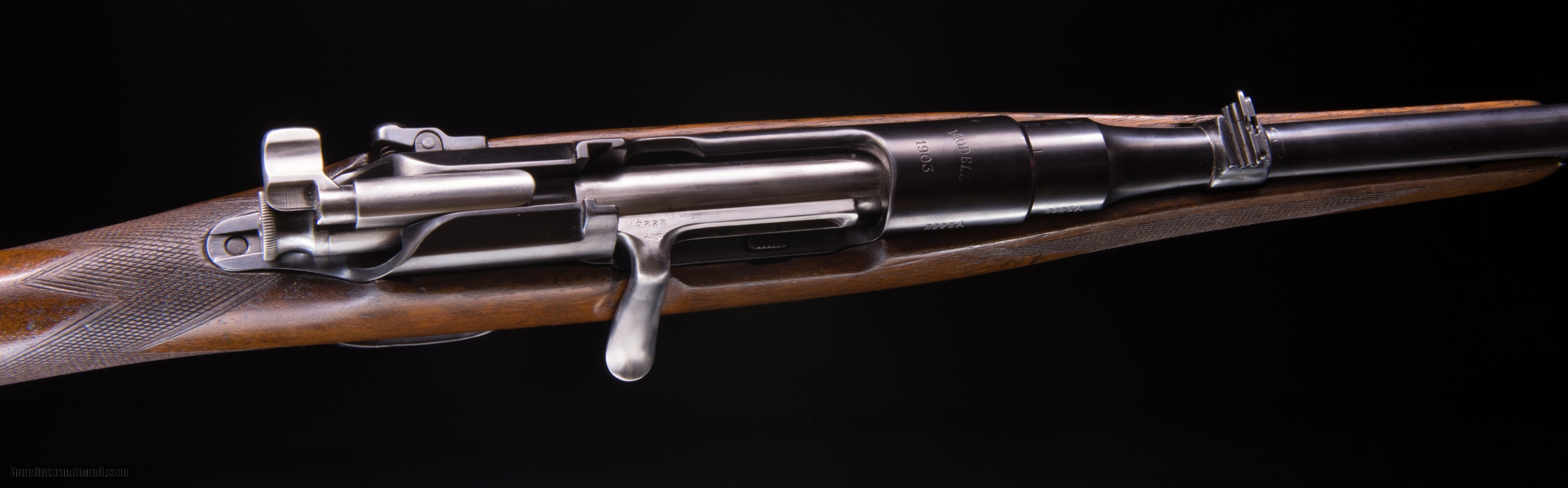 British Retailed, stocked, barreled and proofed Mannlicher