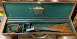William Ford boxlock with its makers case built in 1938~ An excellent example of what Ford specialized in.... - 1 of 11