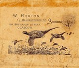 W. Horton ~ An often overlooked but by those in the know well loved gunmaker of Scotland - 11 of 11