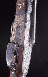 Charles Lancaster 12/20 Sidelock set up with live pigeon forend ~ built between the wars - 8 of 9