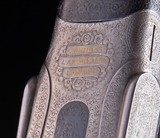 Charles Lancaster 12/20 Sidelock set up with live pigeon forend ~ built between the wars - 7 of 9