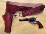 1873 Regulator Uberti mfg. 45 long colt revolver and holster