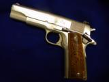 USED COLTGOVERNMENT MODEL .45ACP POLISHED STAINLESS STEEL - 4 of 5