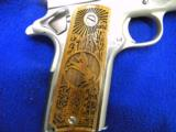 USED COLTGOVERNMENT MODEL .45ACP POLISHED STAINLESS STEEL - 5 of 5