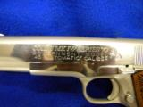 USED COLTGOVERNMENT MODEL .45ACP POLISHED STAINLESS STEEL - 3 of 5
