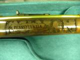 WINCHESTER MODEL 94 PENNSYLVANIA LYCOMING COUNTY 24 KARAT GOLD COMMEMORATIVE RIFLE #2 OF 10 MANUFACTURED - 9 of 12