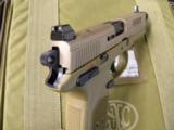 FNH FNX-45 FDE TACTICAL .45ACP - 3 of 8