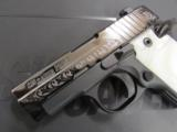 Sig Sauer P238 Pearl Black / Polish Stainless Engraved .380 ACP 238-380-ESW - 3 of 8