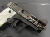Sig Sauer P238 Pearl Black / Polish Stainless Engraved .380 ACP 238-380-ESW - 4 of 8
