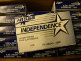 500 ROUNDS FEDERAL INDEPENDENCE AR 5.56 AMMUNITION (AR15 AMMO) - 3 of 4