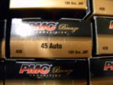 1000 ROUNDS PMC .45ACP 185GR JHP AMMUNITION - 4 of 5