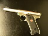 Ruger Stainless Mark III™ Target Pistol 5.5