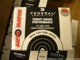 3250 ROUNDS FEDERAL TARGET GRADE PERFORMACE 22LR
