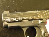 Sig Sauer P238 ESP-Nitron Pink Hogue Grips - 3 of 4