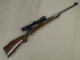 Sako Forester L579 .243 Winchester with Vintage Redfield Illuminator - 1 of 8