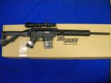 Sig Sauer 522 Target Rifle w/ scope- 1 of 6