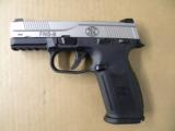 FNH FNS-9 Stainless 9mm with Night Sights - 2 of 4