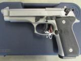 Beretta 92FS Inox (Stainless) 9mm JS92F500 - 2 of 8