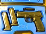 FNH FNX-9 Matte Black Slide 9mm - 1 of 5