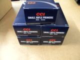 5000 CCI #400 Small Rifle Primers - 1 of 3